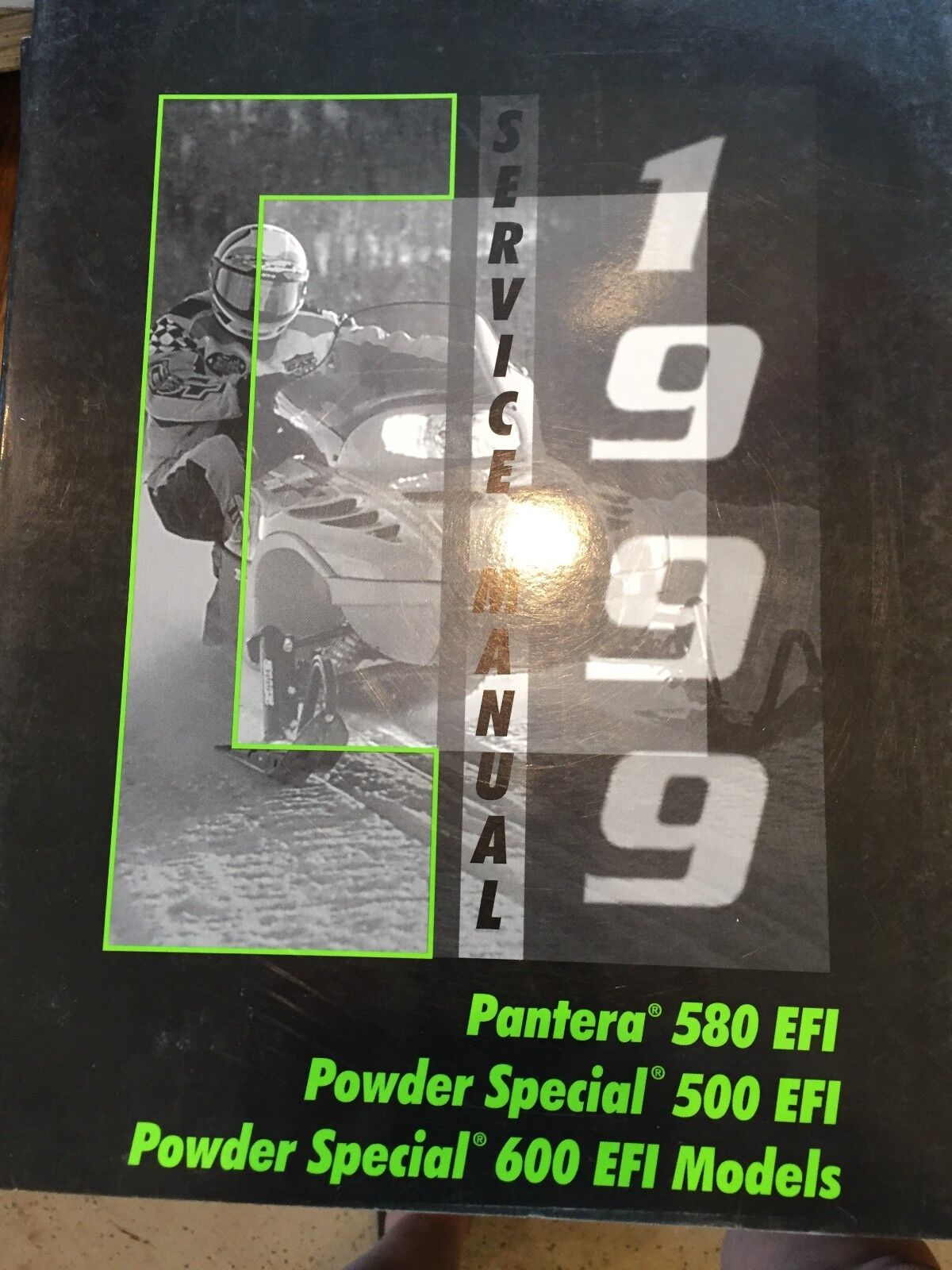 1999 Arctic Cat Pantera 580 EFI, Powder Spec 500&600 Service Manual PN 2255-941