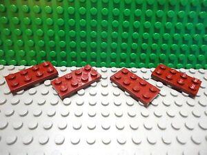 *NEW* 5 Pieces Lego DUPLO 4X4 Plate ROUND CORNER DARK PINK