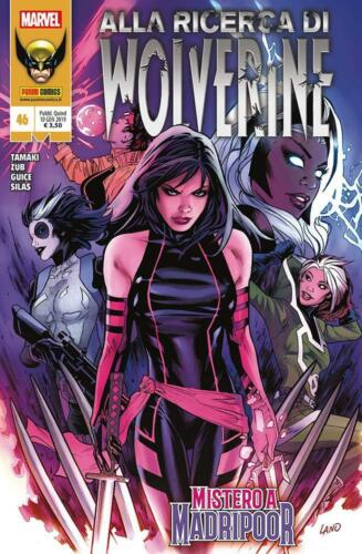 372 ITALIANO NUOVO #NSF3 Wolverine N° 46 - Panini Comics