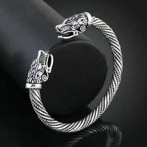Pulsera Brazalete vikinga Serie Vikings Acero Ragnar Lagertha Plateada silver oBtG7FFh-09164357-401396429