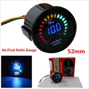 "2"" 52MM 20 LED Digital Car Auto Air/Fuel Ratio Monitor LED Pointer Gauge Meter"