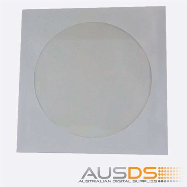 200 X CD / DVD Paper Sleeves With Clear Window