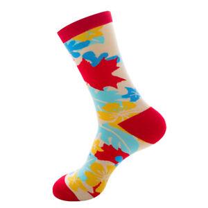 ca43fb89f5c Men Women Socks Combed Cotton Animal Fruit Casual Happy Warm Long Socks  Funny