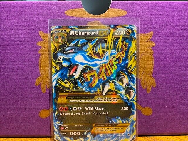 MEGA M CHARIZARD EX 108/106 Ultra Secret Rare Pokemon Holo ...