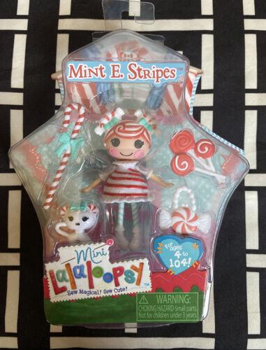 Lalaloopsy Mini Mint E Stripes Series 13 #2 RARE