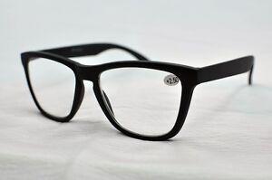 9130-1-NEW-ARRIVAL-Geek-2018-BIG-FRAMED-Matt-Black-Reading-Glasses-1-5-2-0-2-5
