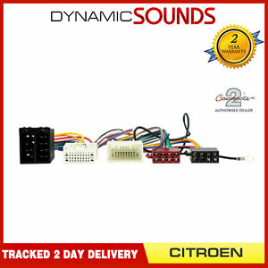 CT10CT03 Parrot SOT T-Harness ISO Wiring Lead for Citroen C-Crosser 2007-2012