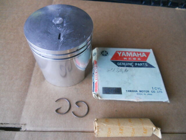 New Yamaha HT1 Piston Kit 90 Enduro HT 1 Rings Pin .25