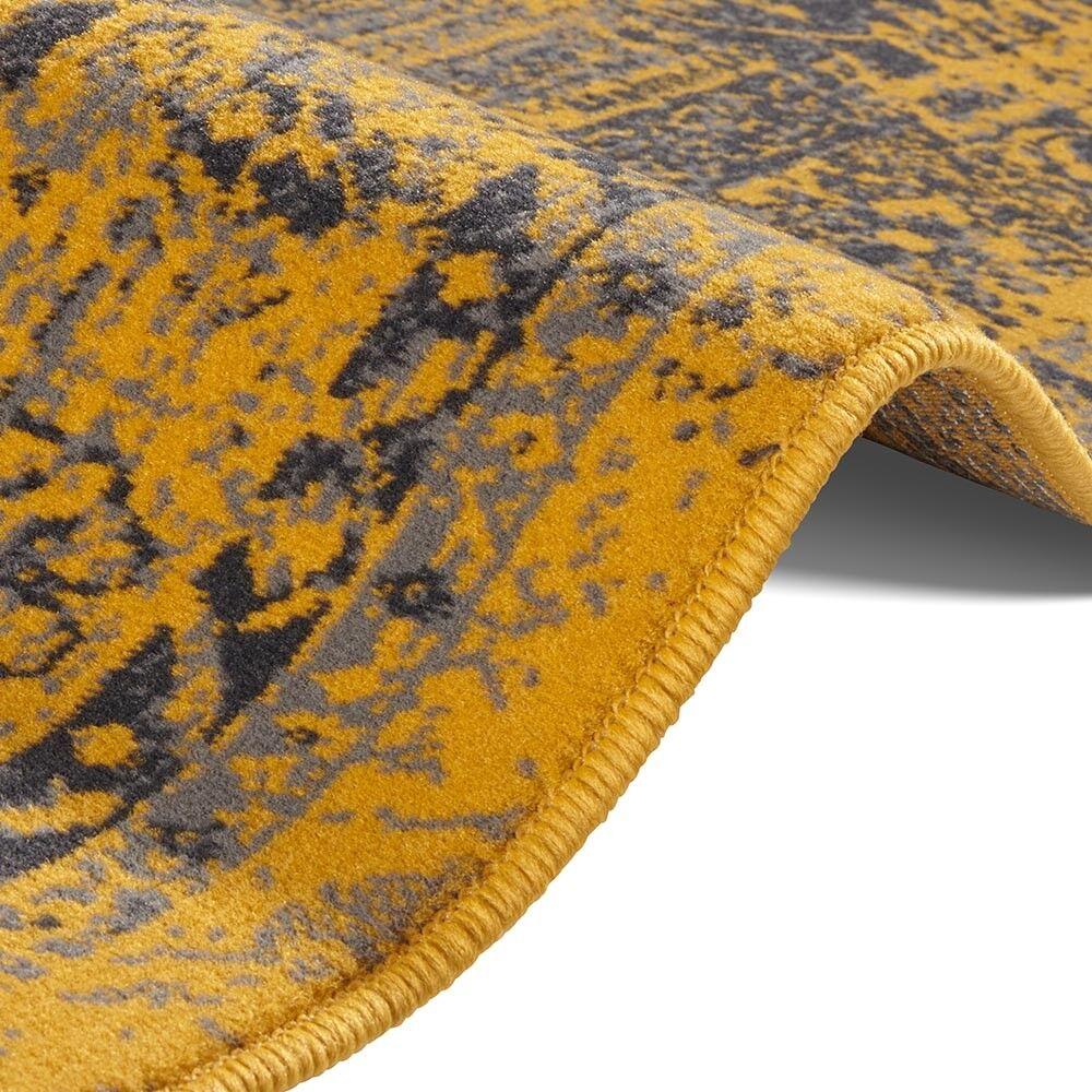 Designer Designer Designer gamuza alfombra Plume oro antracita c0587b