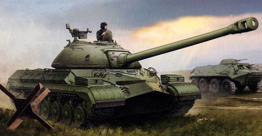 Trumpeter Soviet T-10 Heavy Serbatoio Carro Armato 120mm D-25TA 1:3 5 Modello