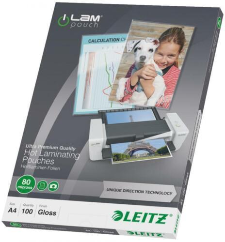 glänzend LEITZ Laminierfolientasche iLAM DIN A4 160 micron 25St.