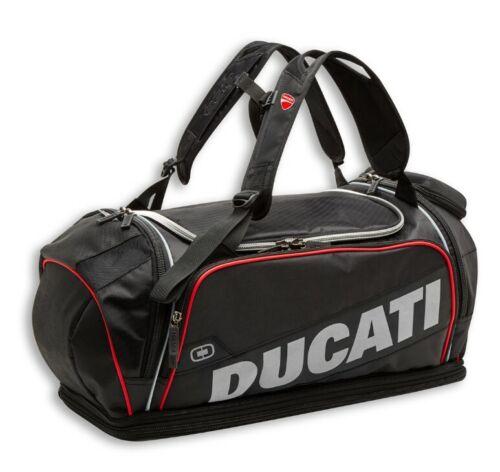 Ducati Ogio Redline d1 bolso deportivo bolso bulto de mochila negro nuevo 2020