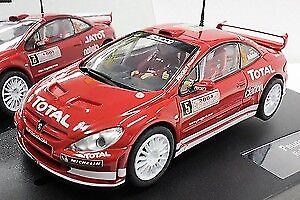 Heng aime Noël, Noël, Noël, la chaleur du coeur Peugeot 307 Wrc 2004 Slot 1:32 Model CARRERA   En Qualité Supérieure  89f90e