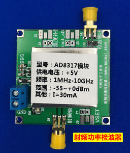 AD8317-1MHz-to-10GHz-RF-Power-Meter-Logarithmic-Detector-Controller-f-Amplifier