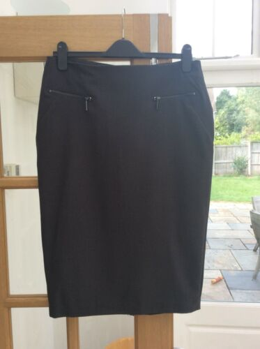 """Marks And Spencer Brand New Grey Skirt With Tags 27"""" Legnth"""