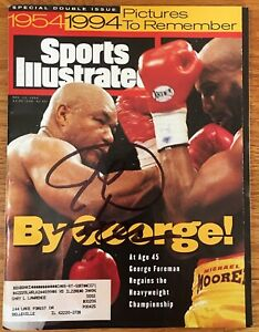 1994 MICHAEL MOORER vs GEORGE FOREMAN Glossy 8x10 Photo Title Fight Poster Print
