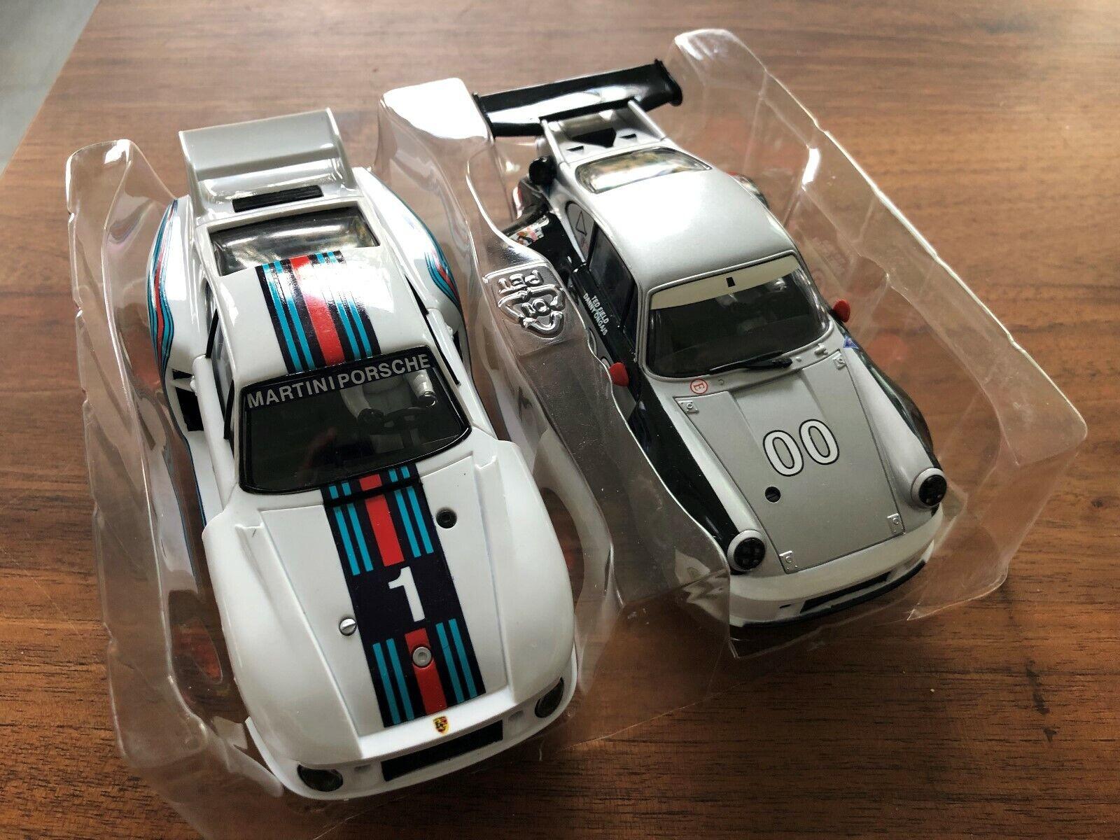 Carrera Evolution 2 x Porsche 935 + 911 Rsr Dal Set 40 Anni Carrera
