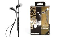 Klipsch Image X7i In-ear Earphones 3-button Control Mic For Ipod Iphone Apple