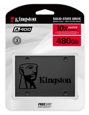 """Kingston 120GB 240GB 480GB 960GB SSD SATA 3.0 III 2.5"""" Solid State Drive A400"""