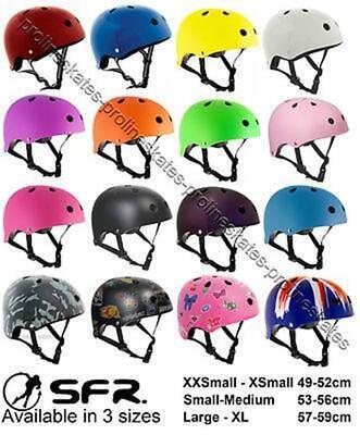 Quad Skates Helmet Union Jack SFR Scooter //Skateboard //BMX //Inline Derby