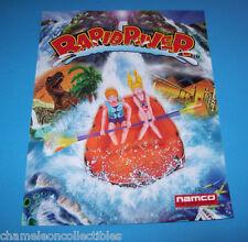 RAPID RIVER By NAMCO 1997 ORIGINAL NOS VIDEO ARCADE GAME SALES FLYER BROCHURE
