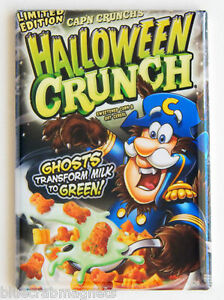 Werewolf Halloween Cap'n Crunch FRIDGE MAGNET (2 x 3 inches ...