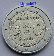 Frankrijk speciale 2 euro 2013 Verdrag van Elysée UNC