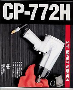 """Chicago-Pneumatic 772H 3//4/"""" Super-Duty Impact Wrench CP772H"""