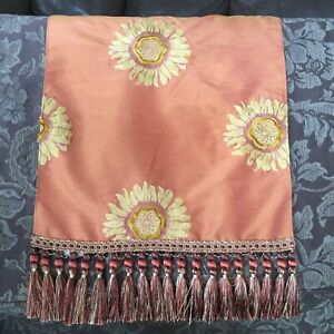 Canaan Company Sunflower Rust Orange Gold Tassel Trim