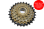 ,SHIMANO COMPATIBLE CASSETTE VENTURA 5 SPEED 14//28 INDEX FREEWHEEL,SPROCKET