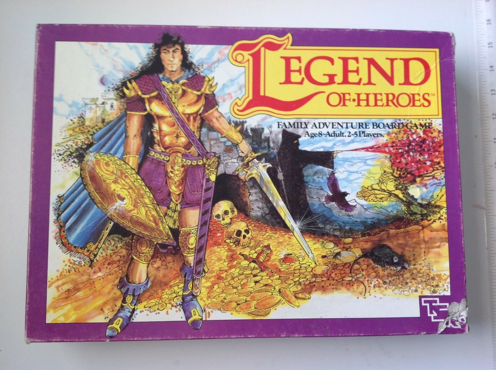Legend Of Heroes, 1987 Board Game 100% Complete