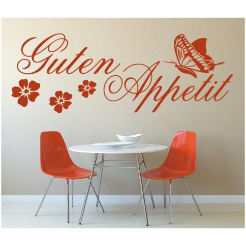 Spruch WANDTATTOO Guten Appetit Küche Zitat Sticker Wandaufkleber Wandsticker 1