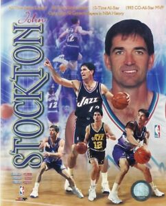 JOHN-STOCKTON-JAZZ-ALL-TIME-ASSISTS-LEADER-UNSIGNED-8X10-PHOTO
