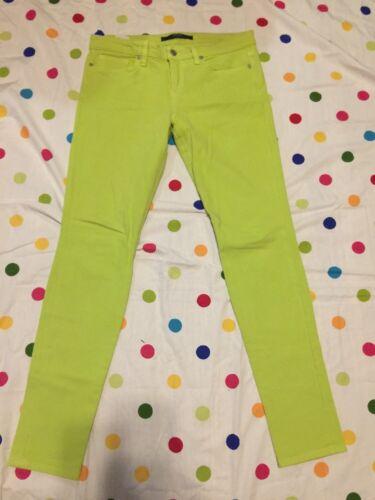 Jeans Couleur Taille Taille Femme Vert 28 Joe's Visionnaire Lime Citron Vert g6TZAZy