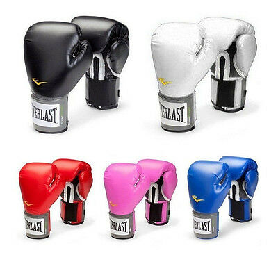 New Unisex Everlast Style Boxing Training Gloves Combat Fighting Gloves