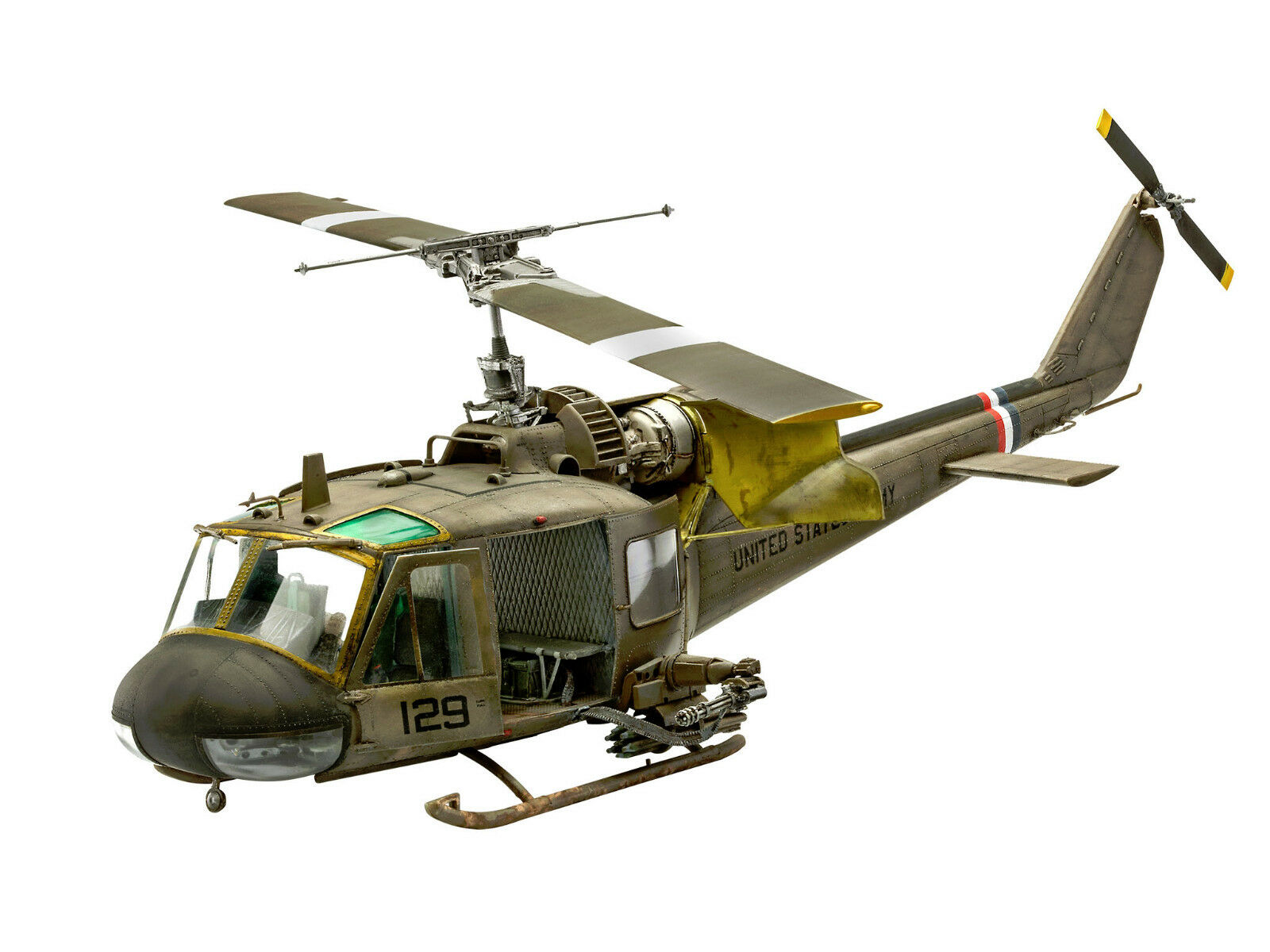 Revell 04960 Bell Helicopter Uh-1c Kit 1 3 5 New
