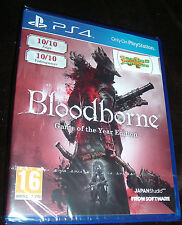 Bloodborne Game of the Year GOTY Edition Playstation 4 PS4 NEW SEALED