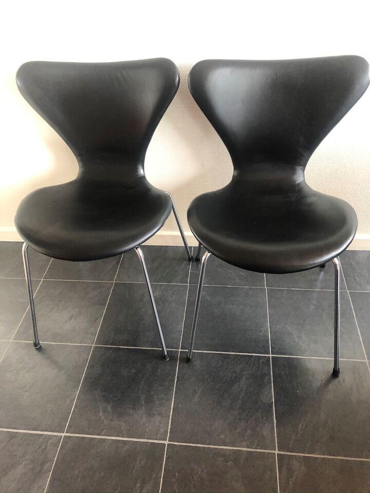 Arne Jacobsen, 7 stol, Stole – dba.dk – Køb og Salg af Nyt