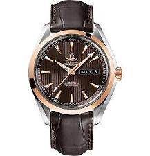 Omega Aqua Terra Annual Calendar Chronometer Mens Watch 231.23.43.22.06.002