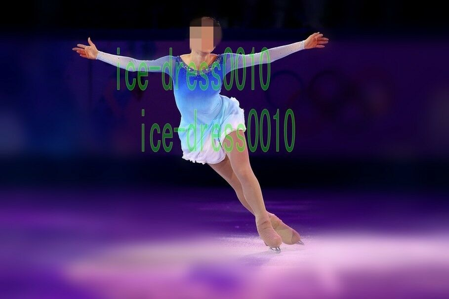 2018 new style Figure Skating Ice Skating Dress Gymnastics Costume 8920