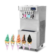 Commercial 32 Mixed Flavors Soft Serve Ice Cream Machinegelato Ice Cream Maker