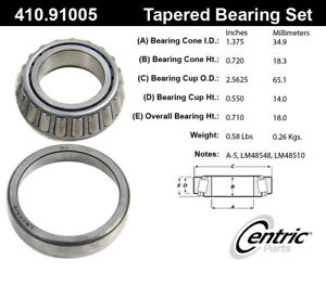StopTech-Wheel-Bearing-and-Race-Set-for-65-67-Ford-Galaxie-410-91005
