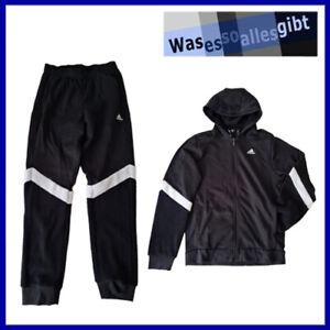 SCHNÄPPCHEN! adidas Winterized Track Suit \ schwarz/weiss \ Gr.: M \ #T 40085
