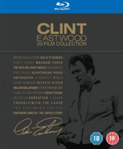 Clint Eastwood, Richard Burton-Clint Eastwood 20 Film Collection Blu-ray NEW