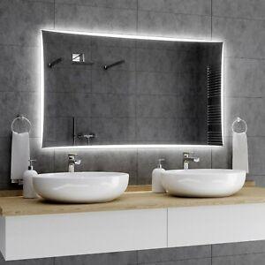 Lisbon Badspiegel Mit Led Beleuchtung Wandspiegel