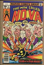 Nova #9 - Megaman Appearance! - 1977 (Grade 6.5/7.0) WH