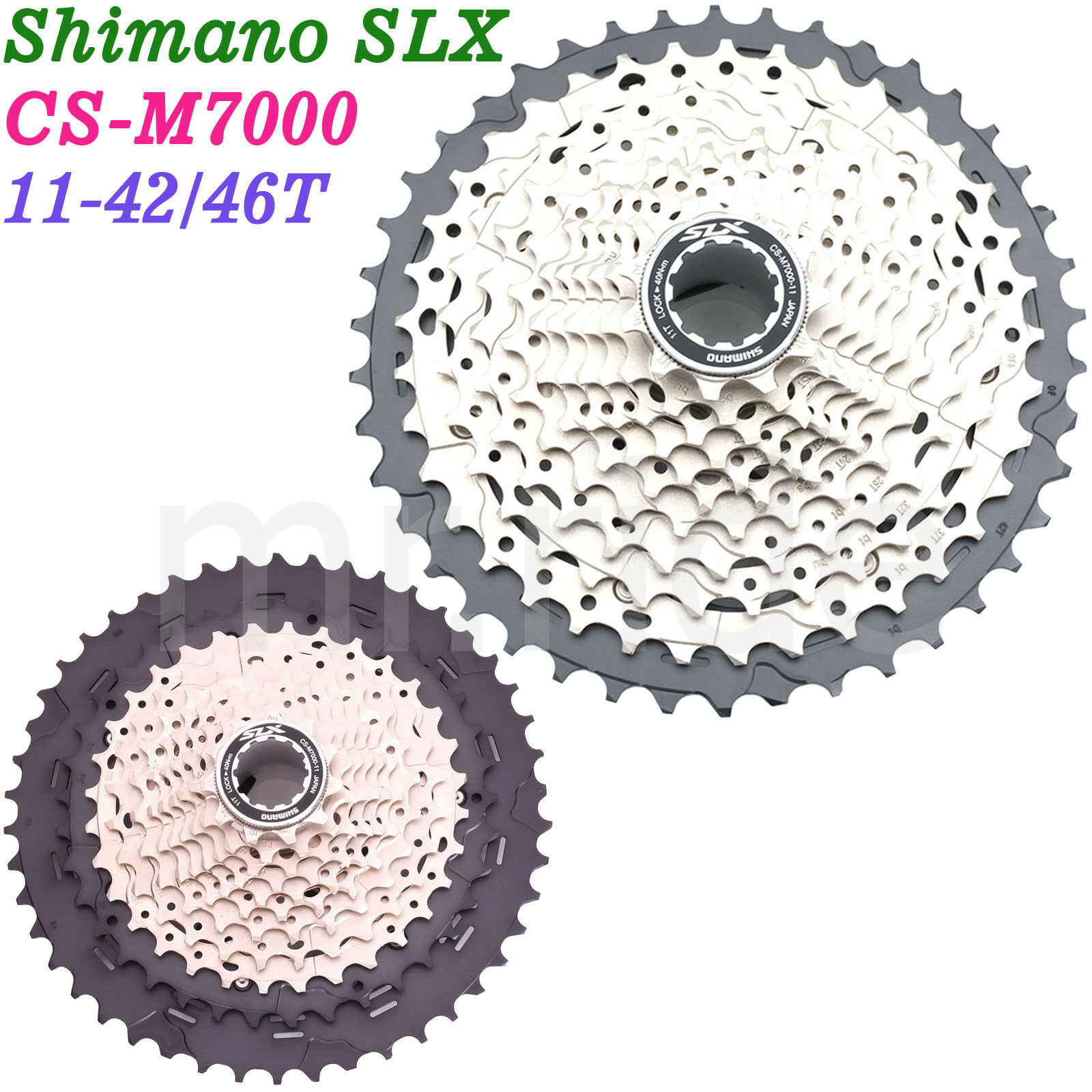 Shimano SLX Mountain Bike Cassette CS-M7000 11-Speed 11-42 11-46T