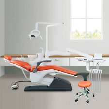 Dental Unit Chair Hard Leather Computer Controlled With Doctor Stool 24h Fdace