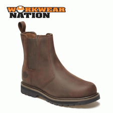 Tan FN23600 Size 6-12 Mens Dickies Welton Lace Leather Boot Non safety