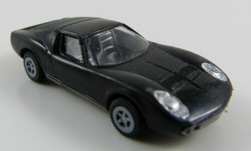 Lamborghini Miura schwarz IMU 1:87 H0 OVP SU2